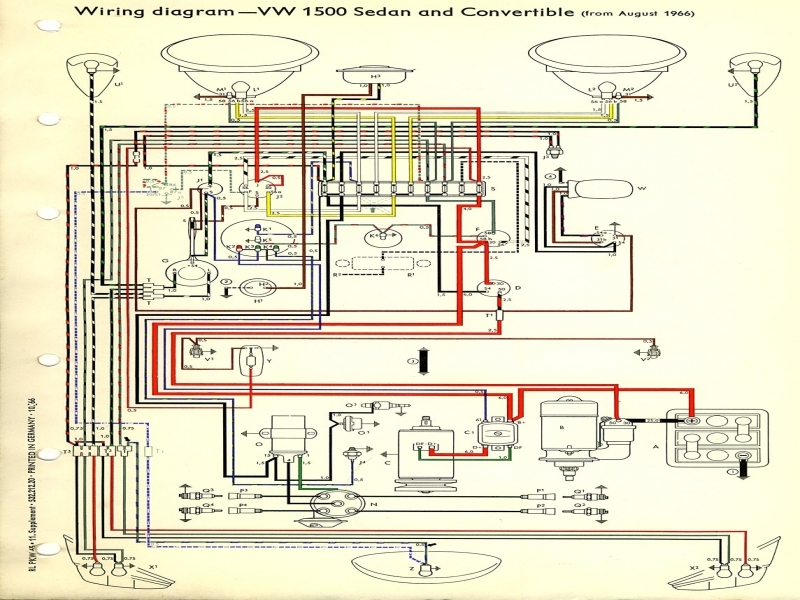 Wiring Diagram For 1967 Vw Beetle : Vw beetle fuse box wiring diagram forums