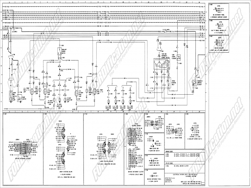 1975 ford f 250 wiring diagram haynes wiring forums 1975 ford f250 wiring diagram 1975 f250 wiring schematics