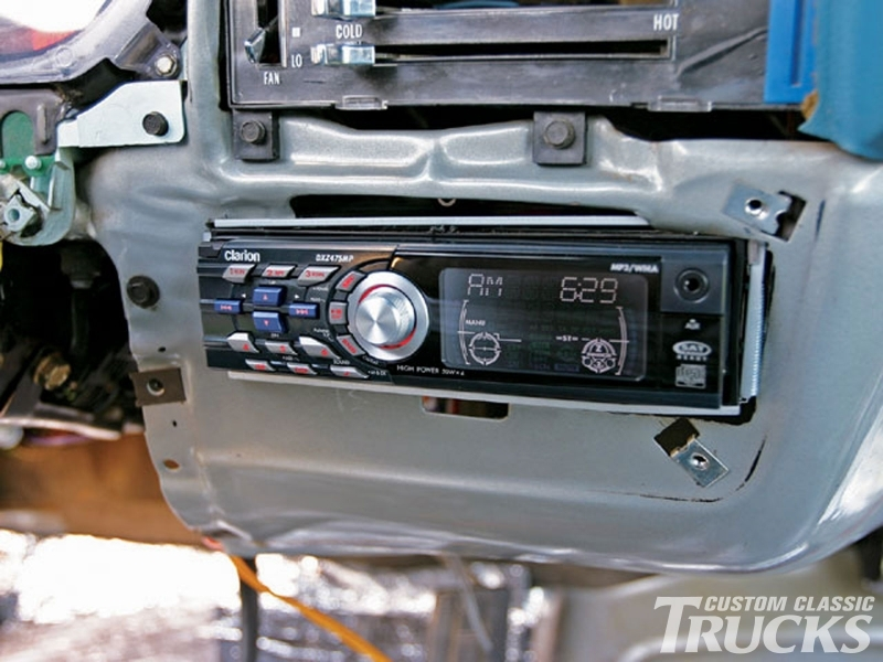 1979 Chevy C10 Stereo Install - Hot Rod Network