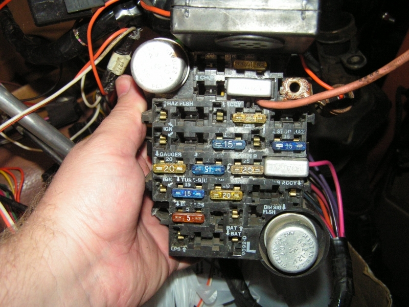 1981 Fuse Box Issue - Corvetteforum - Chevrolet Corvette ...