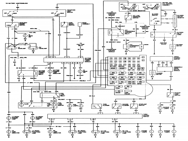 1982 chevy truck wiring diagram - saleexpert