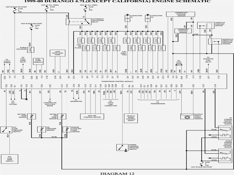 1987 Dodge D100 Wiring Diagram  1988 Dodge D150 Wiring Diagram