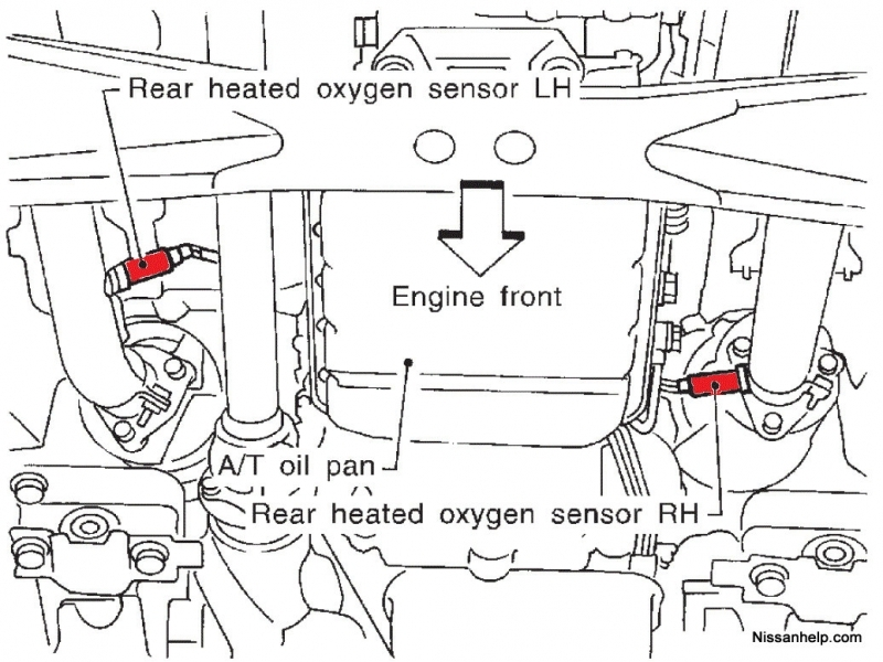 1997 lincoln town car o2 sensor diagram  lincoln  auto