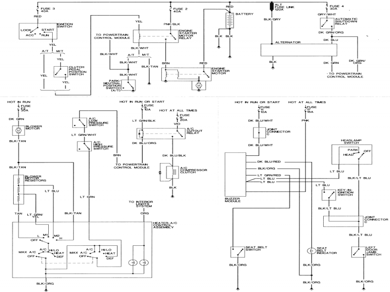 E36 Radio Wiring Diagram