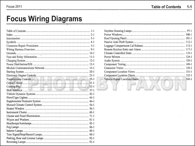 2000 Ford Focus Wiring Diagram : Ford focus fuse box uk free wiring diagrams