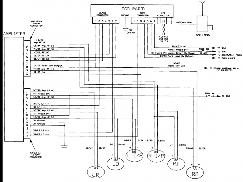 Jeep Grand Cherokee Radio Wiring Diagram Gooddy