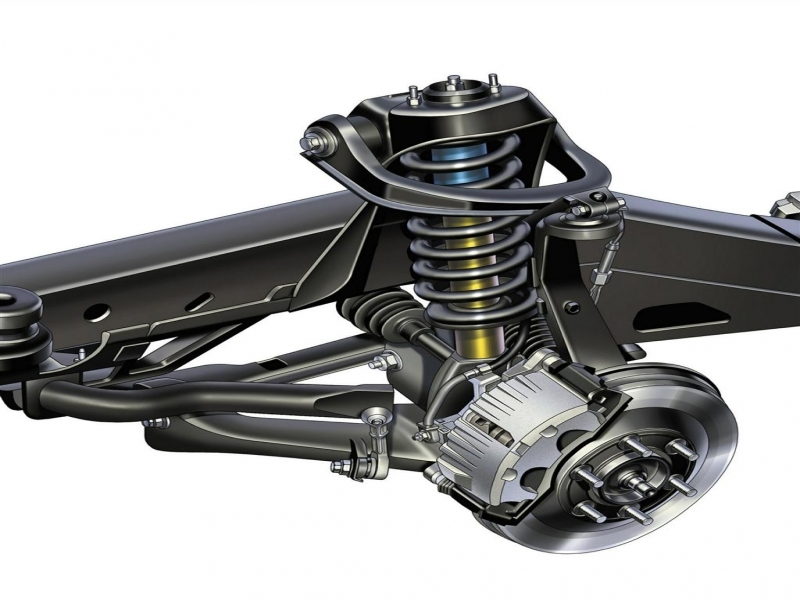 Chevy Trailblazer Front Suspension Diagram