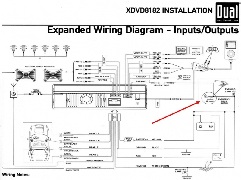 2001 Mitsubishi Eclipse Radio Wiring Diagram