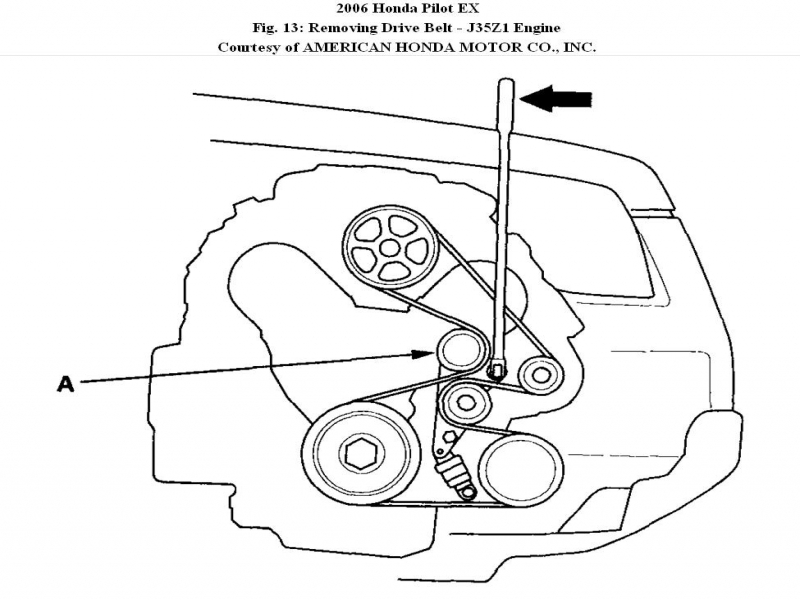 Honda Pilot Serpentine Belt Diagram Wiring Forums