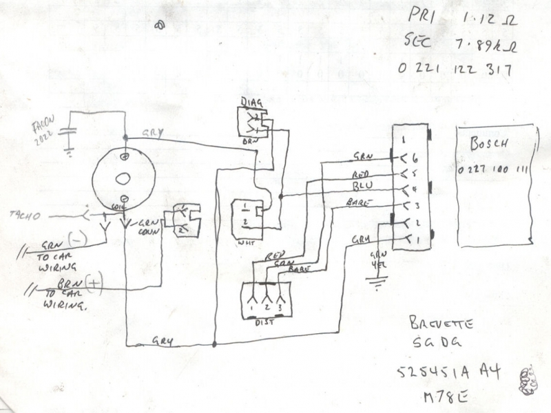 bosch electronic ignition wiring diagram