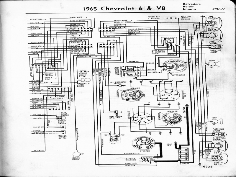 Chevy Wiring Diagrams on 57 Chevy Wiring Schematic