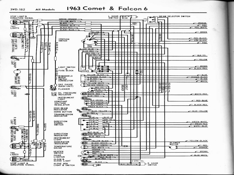 Ford Wiring Diagrams on 63 Ford Falcon Wiring Diagram