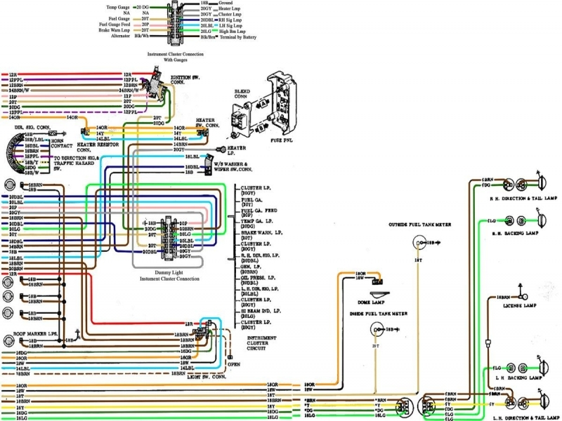 1970 chevy c10 ignition switch wiring diagram - wiring forums 1966 c10 ignition switch wiring diagram #6