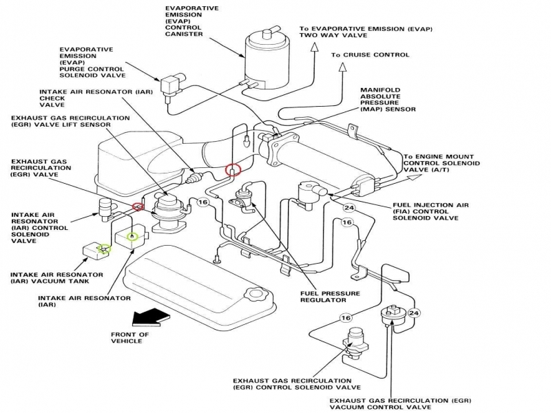 Accord Ex F B Vacuum Line Diagrams Honda Tech Honda