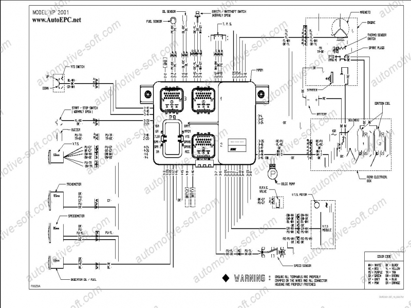 sea doo 951 engine diagram