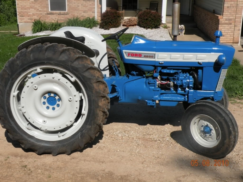 Ford 4000 Tractor Parts : Another ford wiring forums