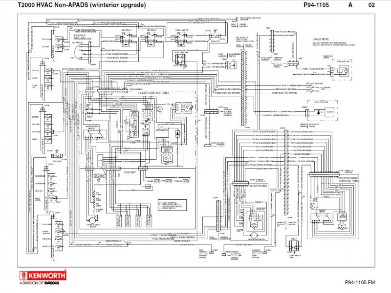 Appealing Kenworth T680 Wiring Schematic Gallery Diagram
