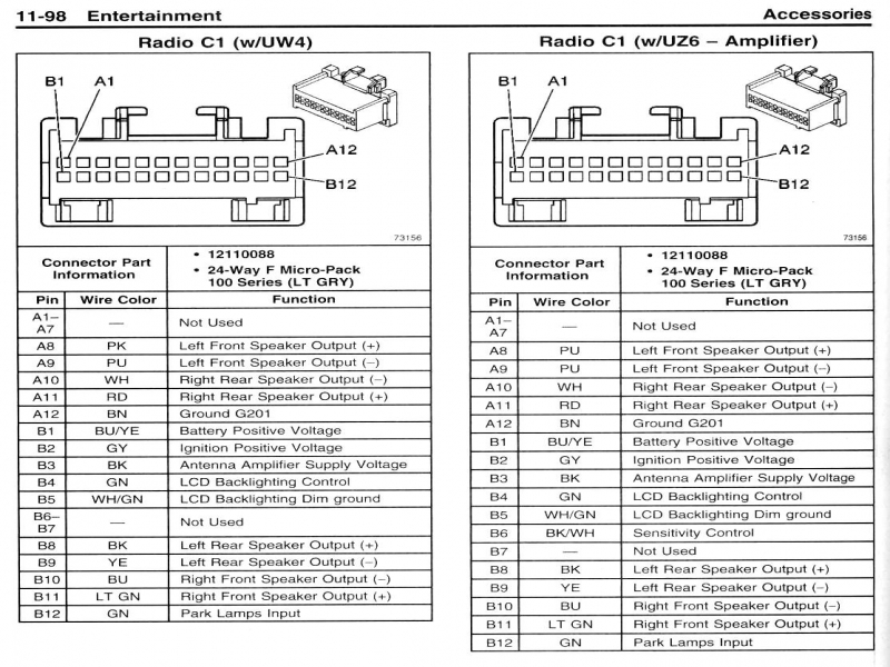 Radio Wiring Diagram 06 Chevy Cobalt – Freddryer.co