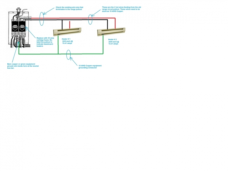 Baseboard Heater Thermostat Wiring Diagram Gooddy