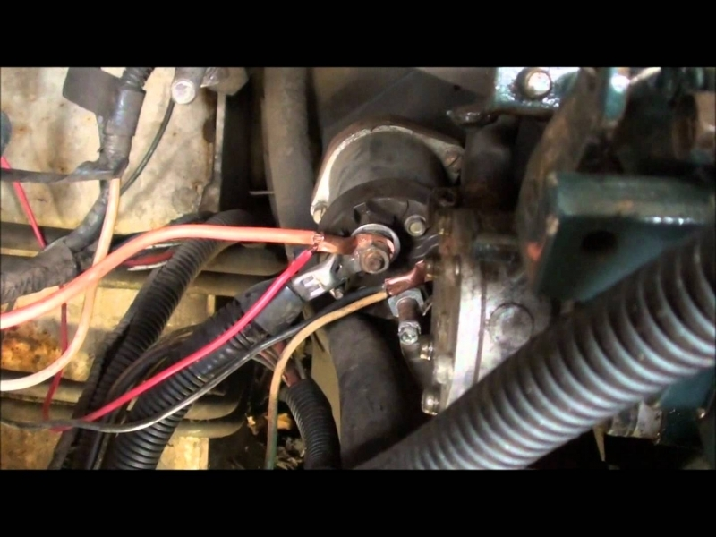 Bobcat 743 Glow Plug Replacement Part 2 - Youtube