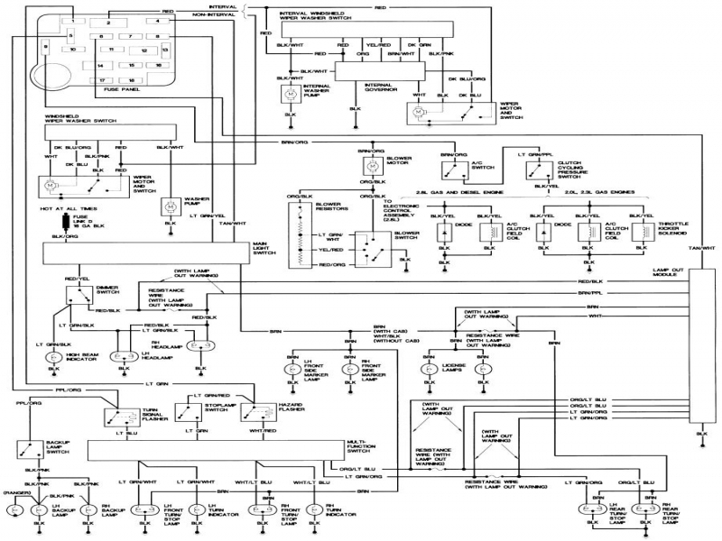 bronco ii wiring diagrams bronco ii corral wiring forums 1990 Ford 350 Electrical Diagram 1990 Ford 350 Electrical Diagram