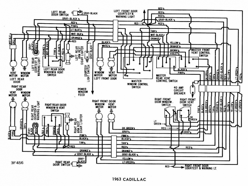 Lincoln Continental Wiring Diagram 1962 Ford