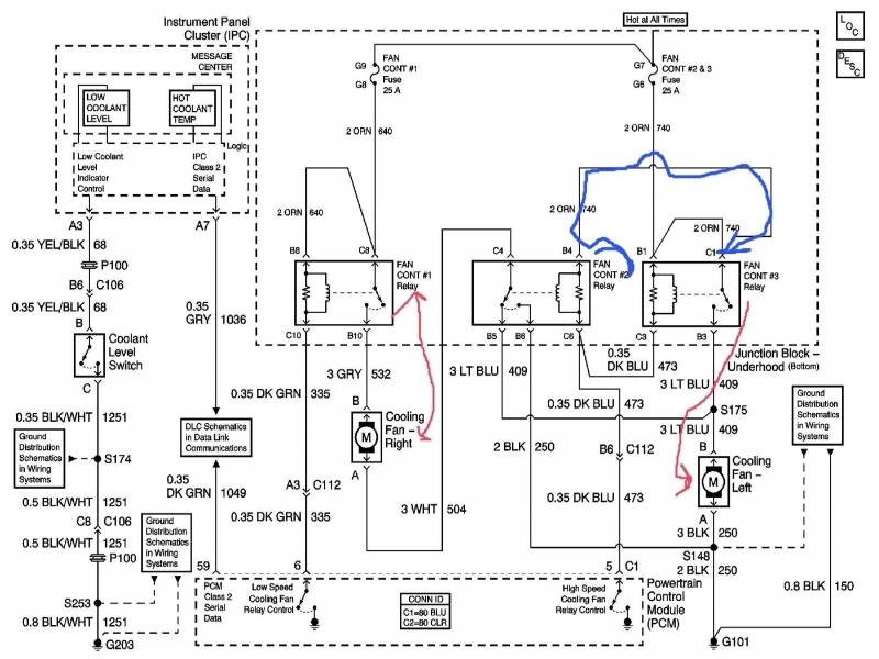 2005 chevy impala cooling fan relay wiring forums With ford blower motor resistor wiring diagram besides radiator cooling fan