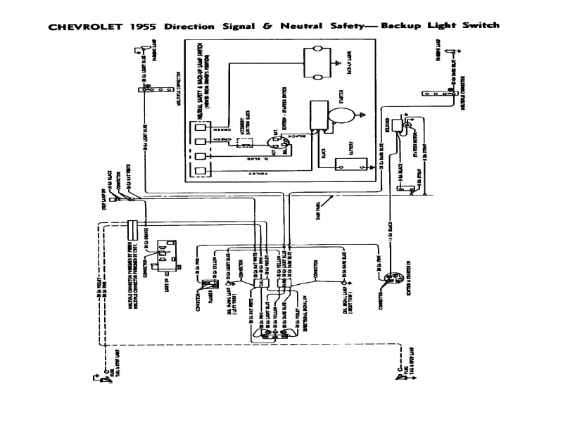 1957 Chevy Neutral Safety Switch Diagram on 1965 chevy wiring diagram