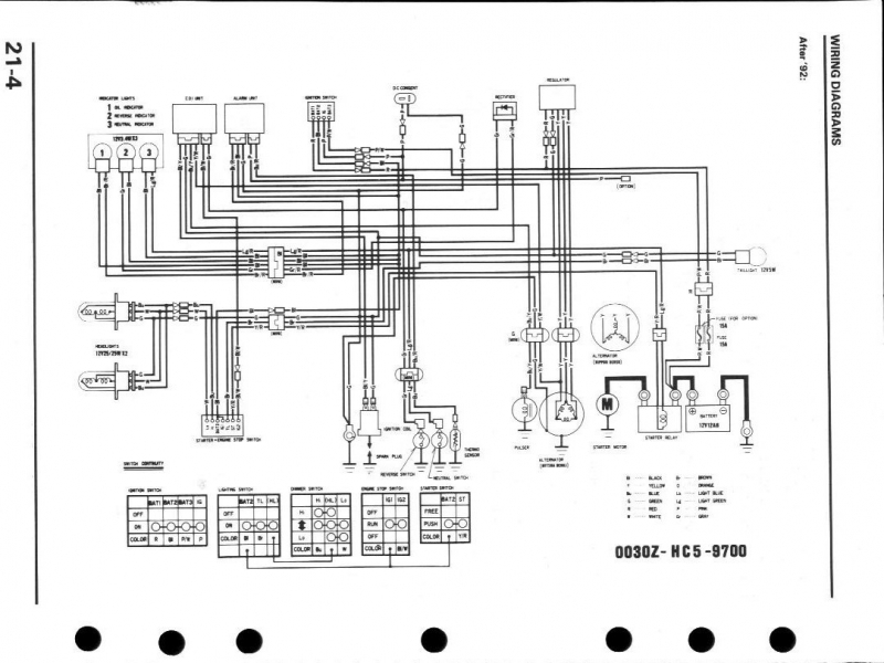 cool trx 300 wiring diagram images