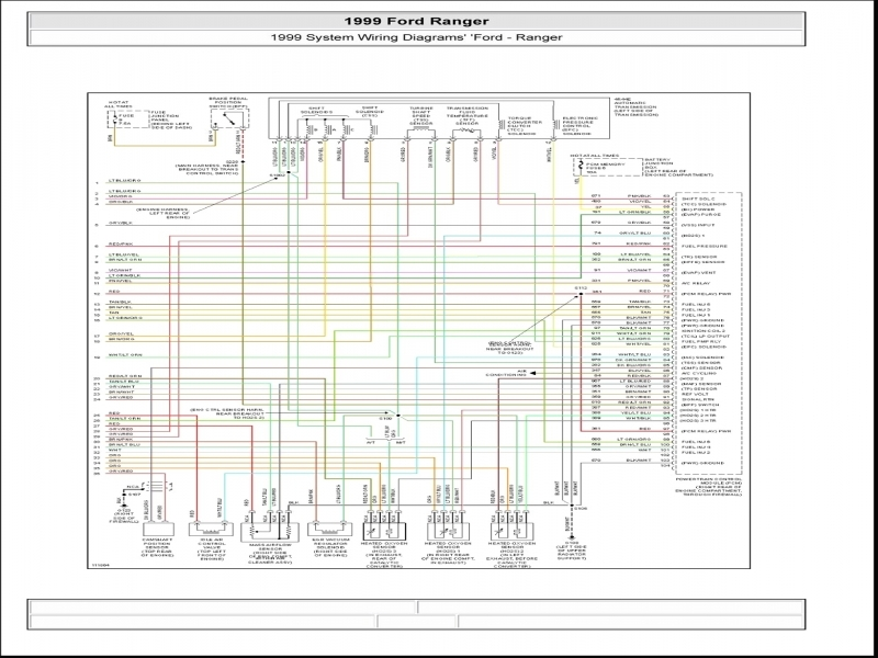 Wiring Diagram For 2000 Ford Ranger Radio : Diagrams ford ranger radio wiring diagram