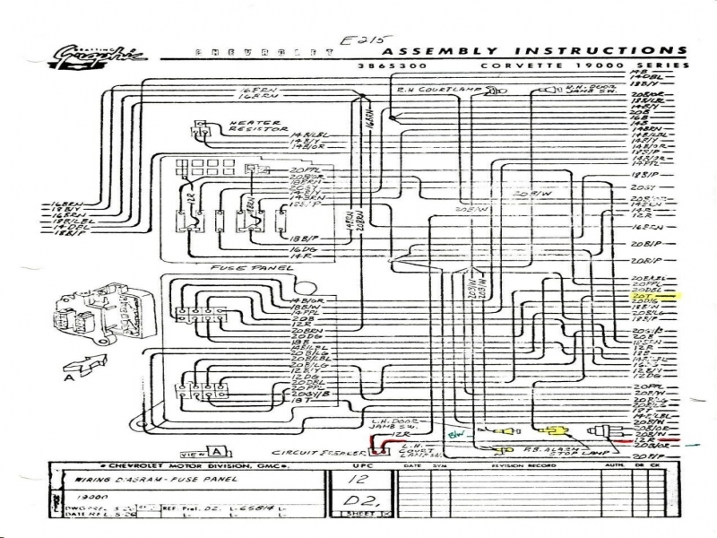 Exciting 1980 Corvette Wiring Diagram Gallery