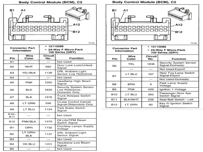 2005 Chevy Trailblazer Wiring Diagram \\\\u0026 2006 Chevy Trailblazer .