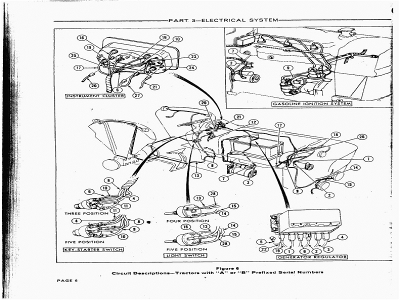 Ford 5000 Parts Diagram : Ford tractor wiring diagram diagrams arresting n