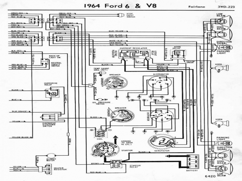 Ford Electronic Ignition Wiring Diagram Ford Fuel Gauge
