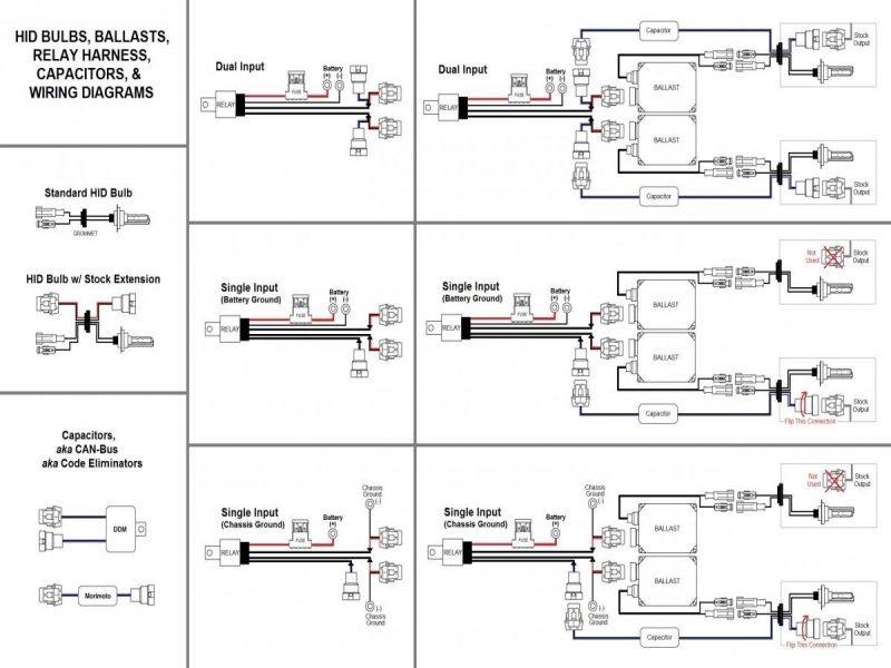 Wiring Diagram For Hid Lights : Ford hid headlights wiring diagram forums