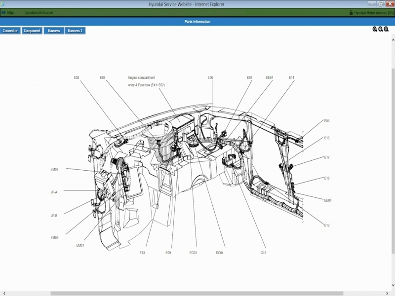 hyundai wiring diagrams 2001 to 2006 - youtube