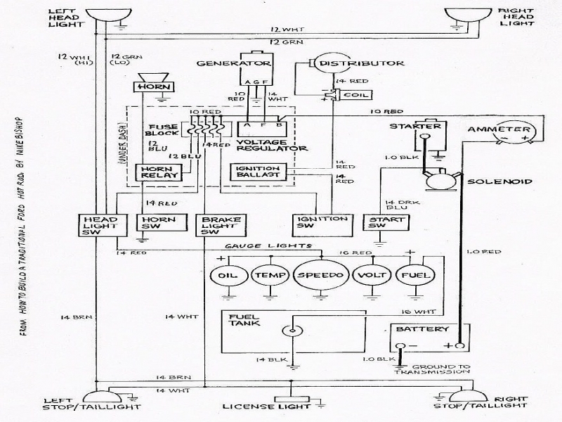 12v Hitachi Alternator Wiring Diagram