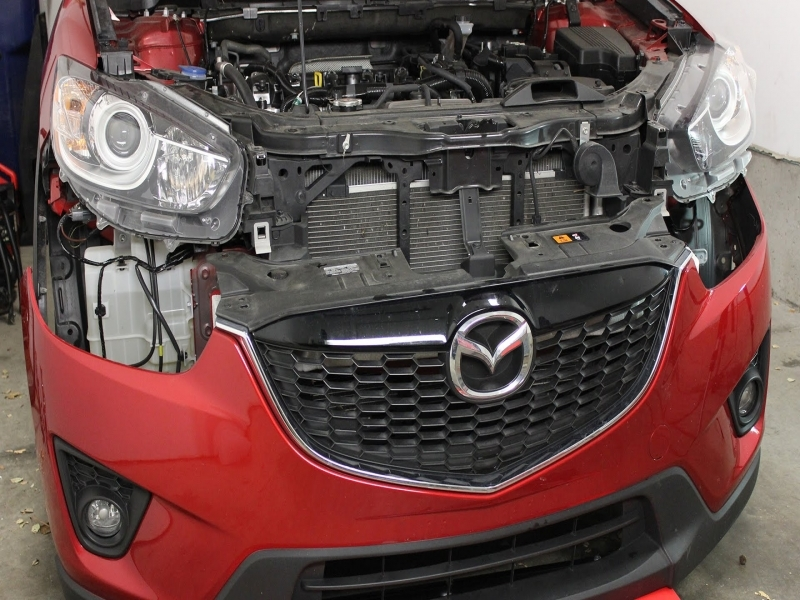 Mazda Cx-5 Front Bumper Cover Removal And Installation  2013