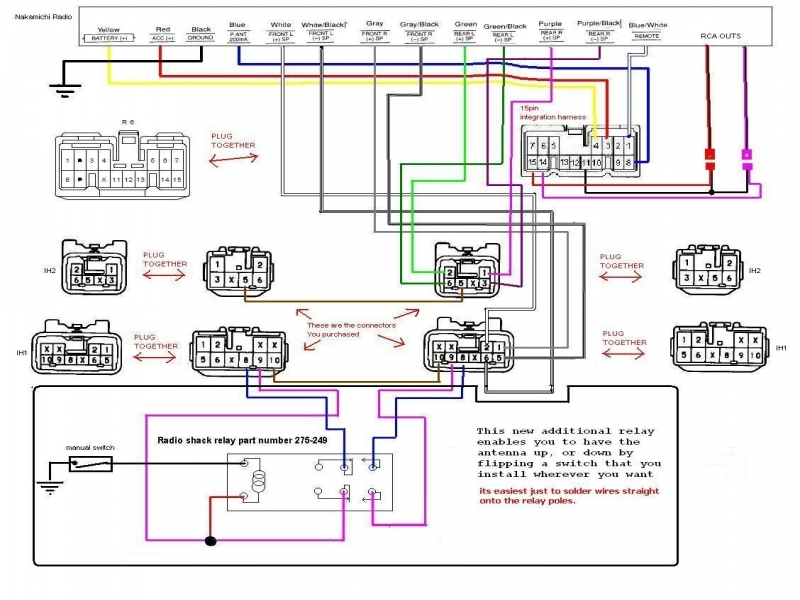 Panasonic car stereo wiring diagram cq c u in vw jetta