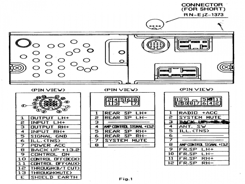 Wiring Diagram Panasonic Car Radio : Panasonic radio wiring diagram gooddy forums