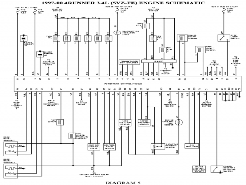 1998 Toyota Camry Wiring Schematic. Toyota. Wiring Diagrams Instructions