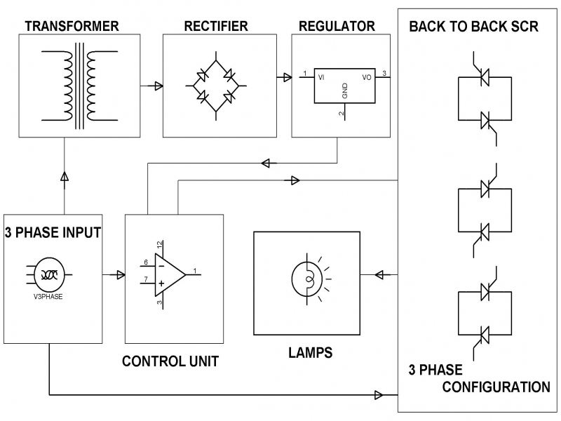Soft Starter For Three Phase Induction Motor Electrical
