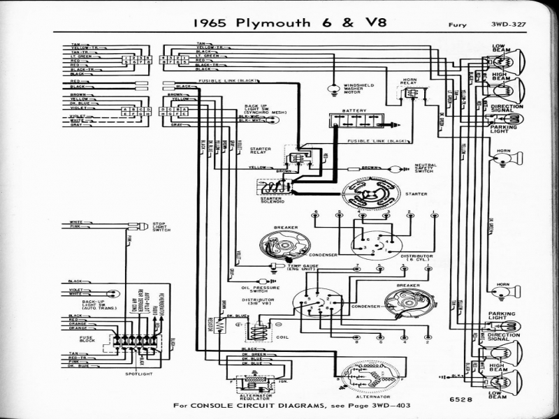 Backup Light Wiring Diagram For A 1974 Duster