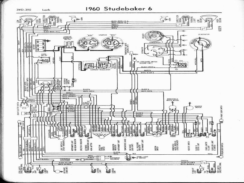 studebaker wiring diagrams   wiring diagrams for 04 Mazda 6 2.3L Wiring-Diagram 1969 Camaro Wiring Diagram