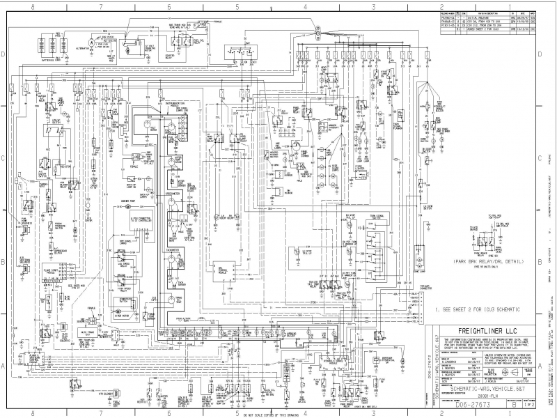 Wiring Diagram For Freightliner Columbia 2007 The Within Sterling