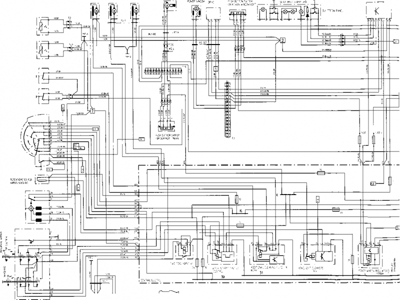 porsche 928 wiring diagram 1988