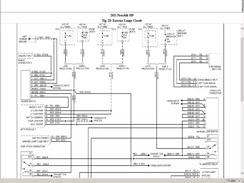 Wiring Diagram Peterbilt Readingrat