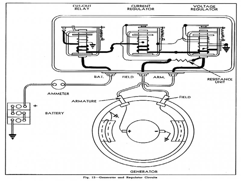 Delco Cs Alternator Wiring Diagram : Wiring diagrams wire alternator hook up delco cs
