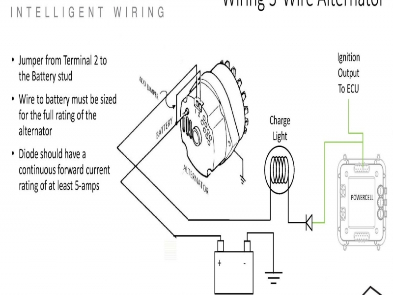 Wiring Diagrams   Alternator Wiring 12si Alternator Ac