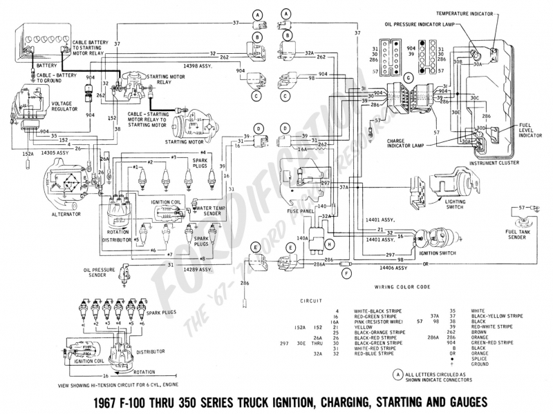 Wiring In Ignition Switch In F Ford Truck Enthusiasts Forums on 1965 corvette wiring diagram switch